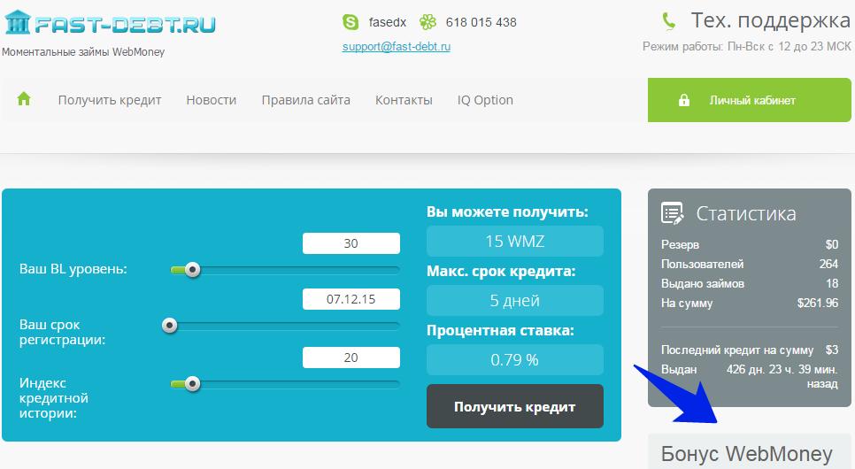Взять кредит с плохой кредитной историей в Украине Займ